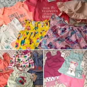 🔥NEW WITH TAGS🔥 12 Months Toddler Girl Clothes
